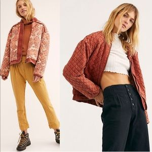 FREE PEOPLE   Great Escape Dolman Quilted Jacket